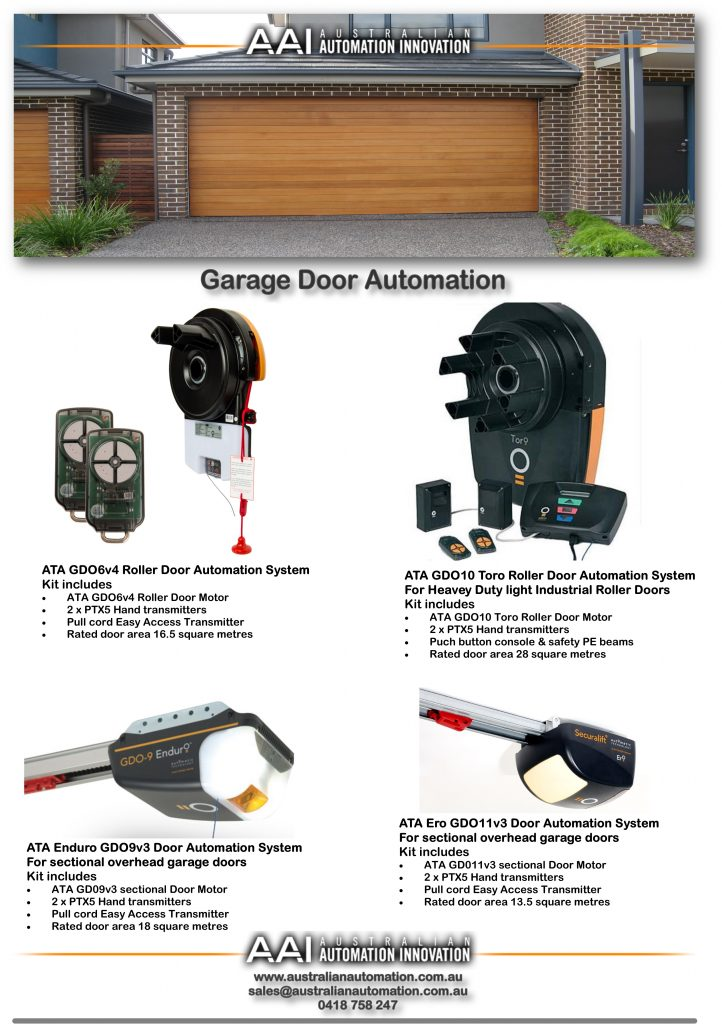 Overview- garage door opener kits