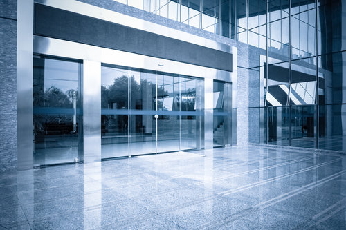 automatic sliding doors for commercial offices, shopping centresand buildings