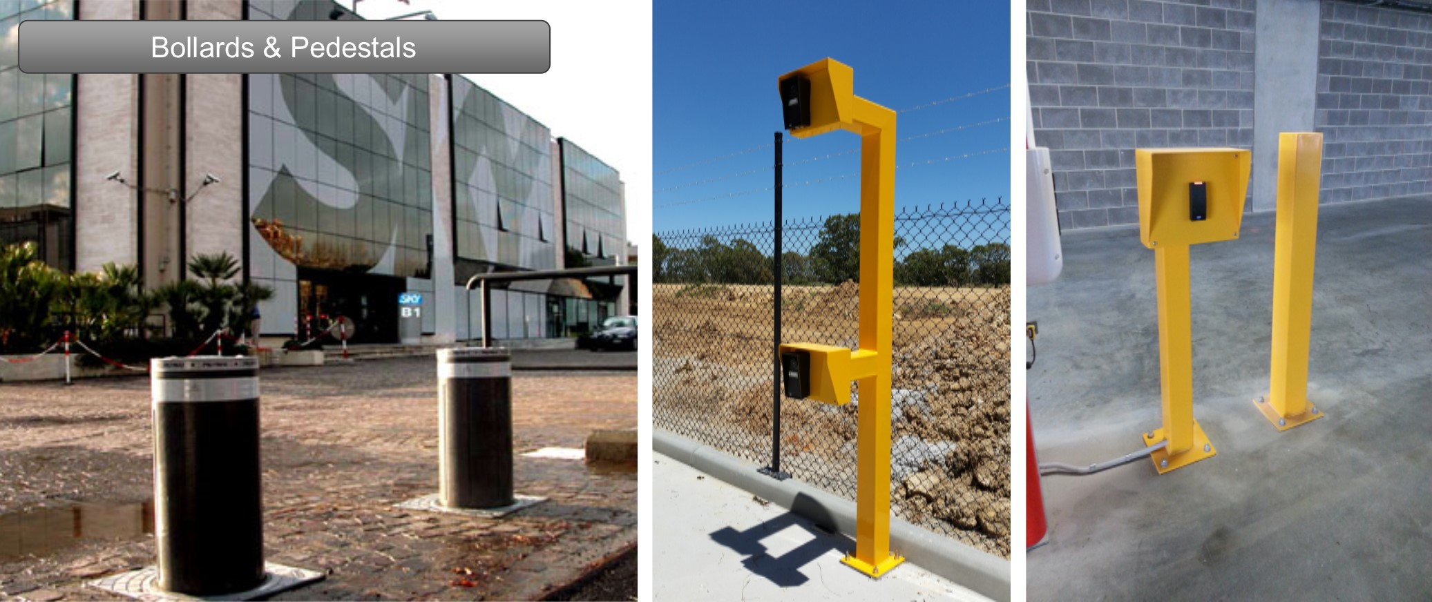 sensors and automatic gates
